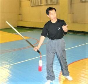 Мастер Хо поясняет Искусство боя мечом «Цинпин-цзянь»
