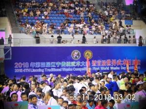 Открытие международных соревнований по традиционному Ушу. г. Шеньян, Китай, 11 августа 2018
