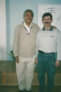 Павел Нигей с широко известным даосским Мастером Хуаном Ли