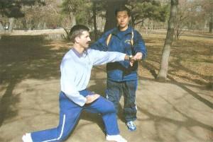 Павел Нигей и Хо Жуйтхин Мастер Кулака Богомола - Танлань цюань, Китай, 2005