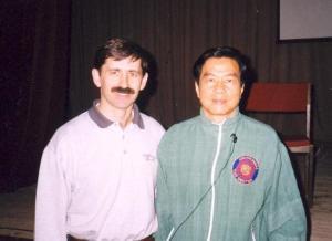 Павел Нигей с даосским Мастером Мантек Чиа