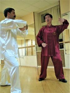 Мастер Хо Жуйтхин объясняет принципы Тайцзи